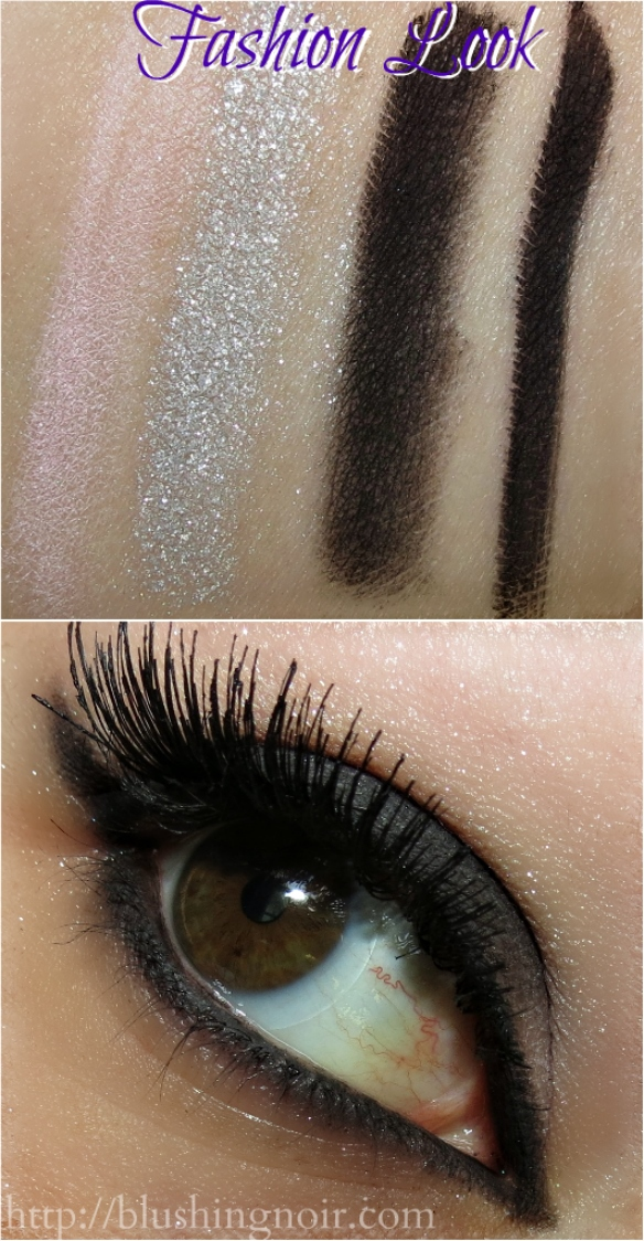 Too Faced Cat Eyes Palette Fashion Look Swatches