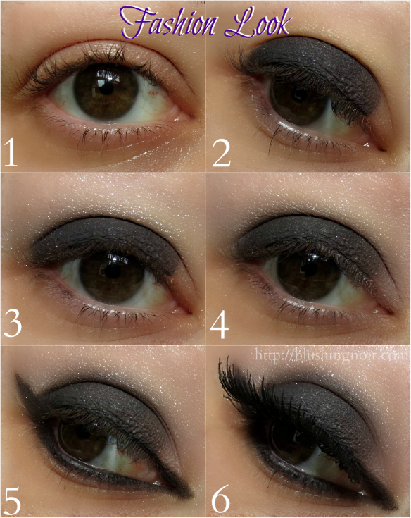 Too Faced Cat Eyes Palette Fashion Look Tutorial
