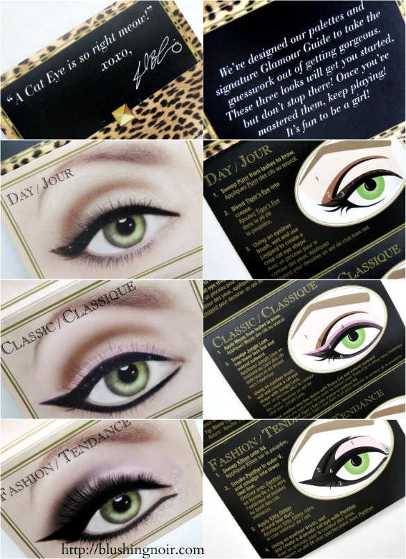 Too Faced Cat Eyes Palette Glamour Guide
