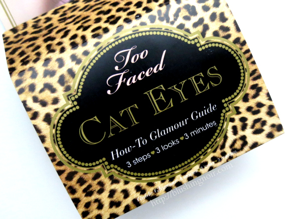 Too Faced Cat Eyes Palette How-To Glamour Guide