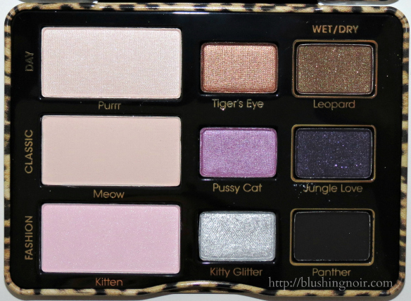 Too Faced Cat Eyes Palette Swatches Review