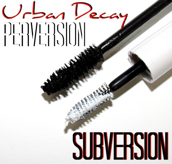 Urban Decay Perversion Mascara Subversion Primer Swatches Review