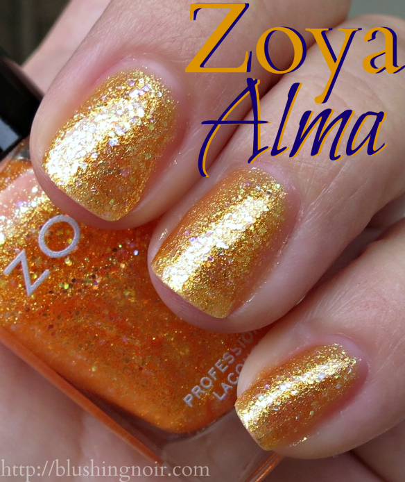 Zoya Alma Nail Polish Swatches