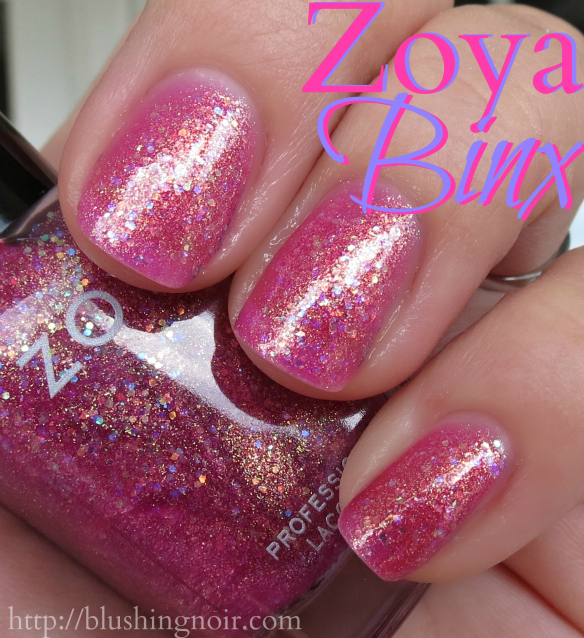 Zoya Binx Nail Polish Swatches
