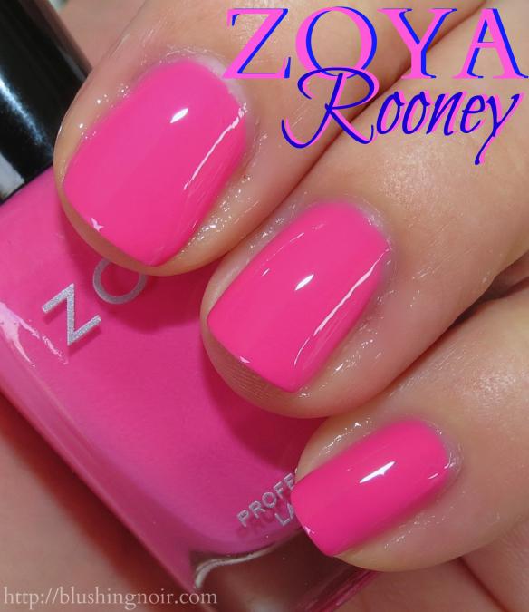 Zoya Rooney Nail Polish Swatches
