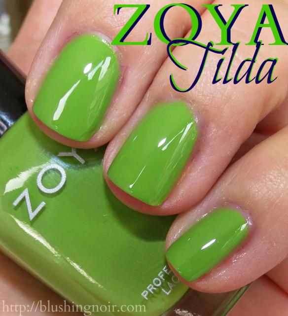 Zoya Tilda Nail Polish Swatches
