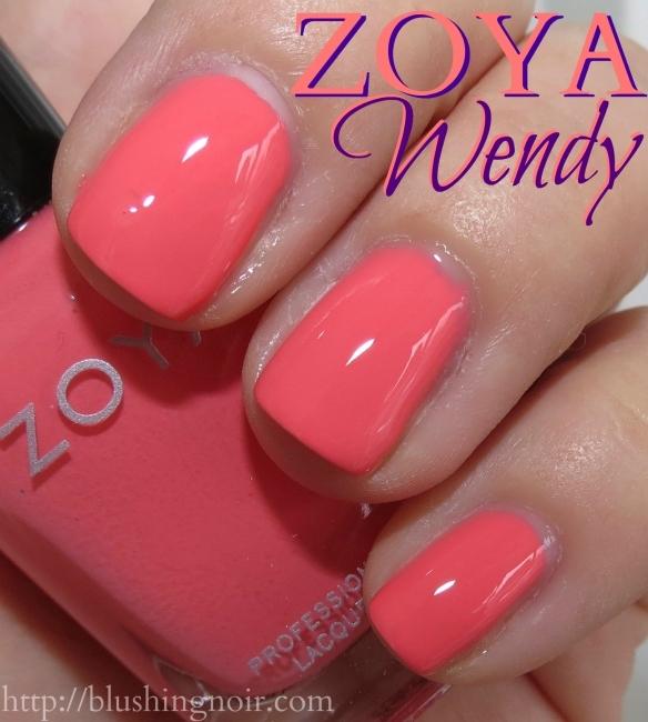 Zoya Wendy Nail Polish Swatches