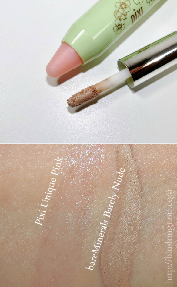 ipsy July 2014 glam bag swatches