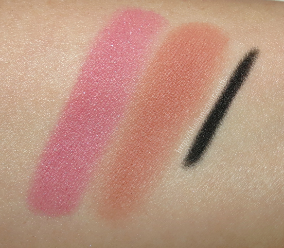 August 2014 ipsy glam bag swatches
