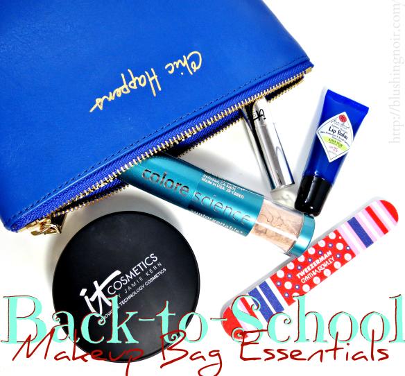 Back-to-School Makeup Bag Essentials