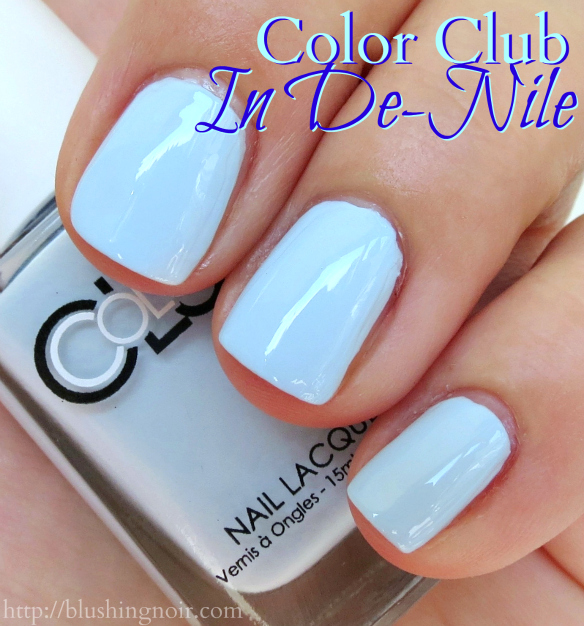 Color Club In De-nile Nail Polish Swatches