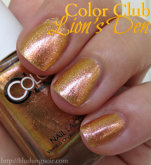 Color Club Lion's Den Nail Polish Swatches