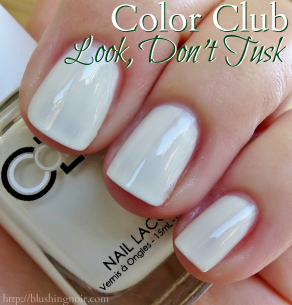 Color Club Look Don't Tusk Nail Polish Swatches