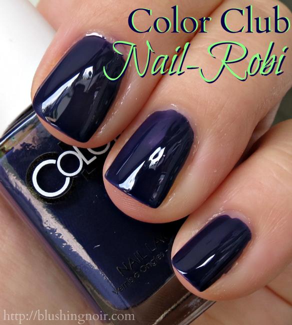 Color Club Nail-Robi Nail Polish Swatches