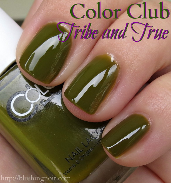 Color Club Tribe and True Nail Polish Swatches