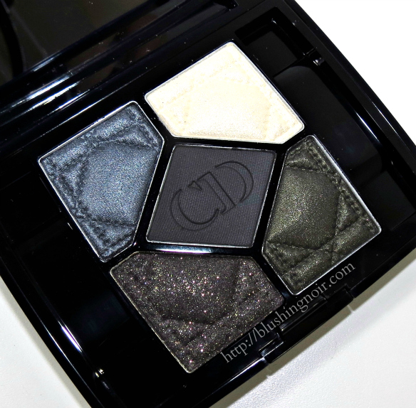 Dior Pied-de-Poule 5 Couleurs Eyeshadow Palette Swatches Review Photos Fall 2014