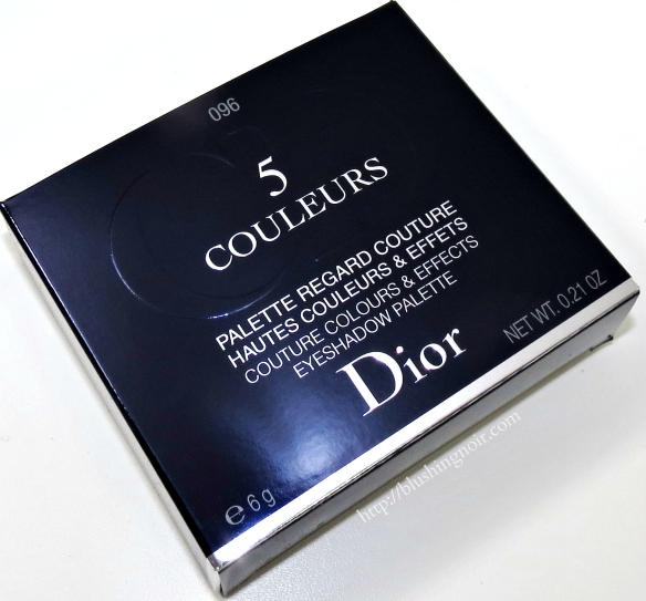 Dior Pied-de-Poule 5 Couleurs Eyeshadow Palette box