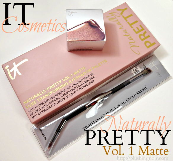 IT Cosmetics Naturally Pretty Liner Love Swatches Review Photos