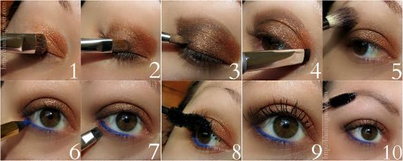 L'Oreal Tresured Bronze Eye Tutorial #walgreensbeauty #shop #cbias