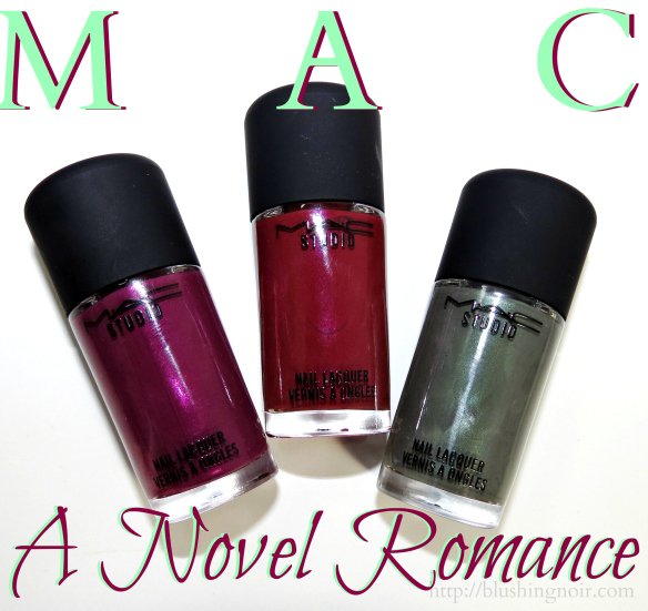 MAC A Novel Romance Nail Polish Swatches Review