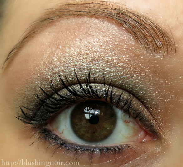 MAC Alluring Aquatic Eye Shadow EOTD 2
