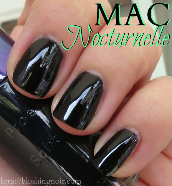 MAC Nocturnelle Nail Polish Swatches