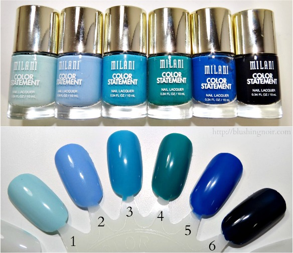 Milani Color Statement Nail Polish Swatches 6