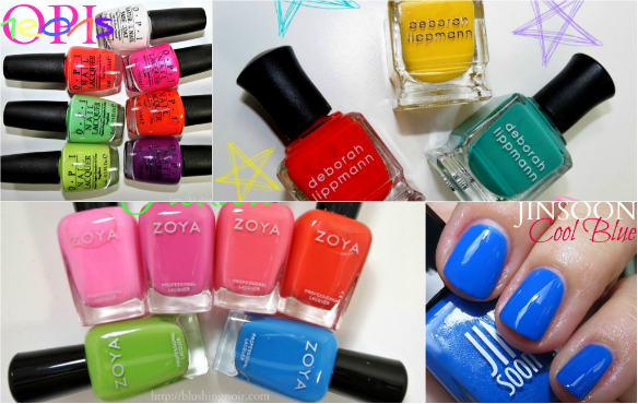 Neon Polishes