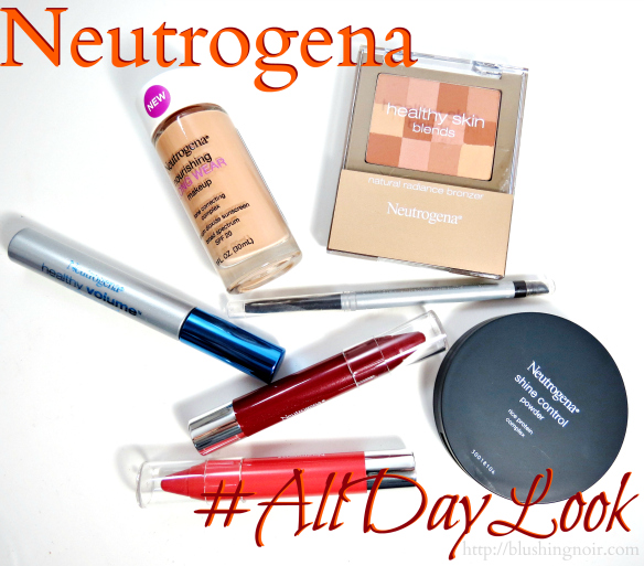 Neutrogena Swatches Review  #AllDayLook #CollectiveBias #shop