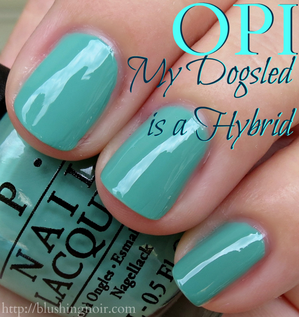 OPI My Dogsled is a Hybrid Nail Polish Swatches