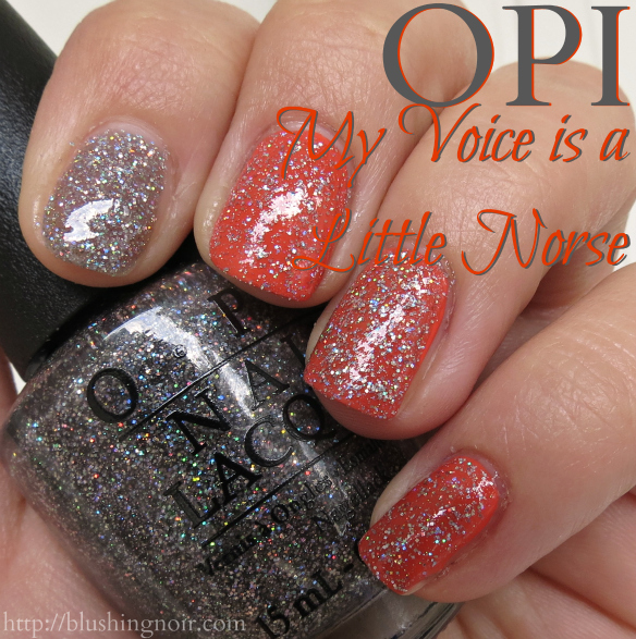OPI My Voice is a Little Norse Nail Polish Swatches