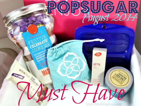 POPSUGAR Must Have Box Review August 2014