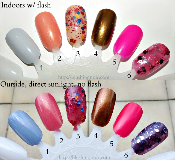 Ruby Wing Sweet Fantasy Nail Polish Collection Swatches