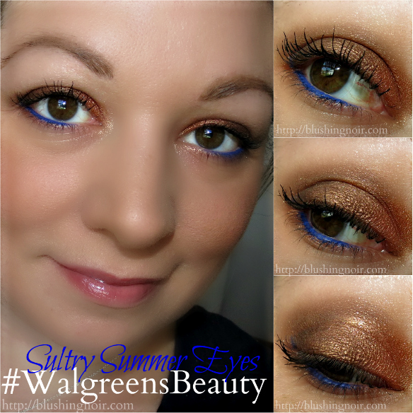 Sultry Summer Eyes Tutorial #WalgreensBeauty #shop #collectivebias