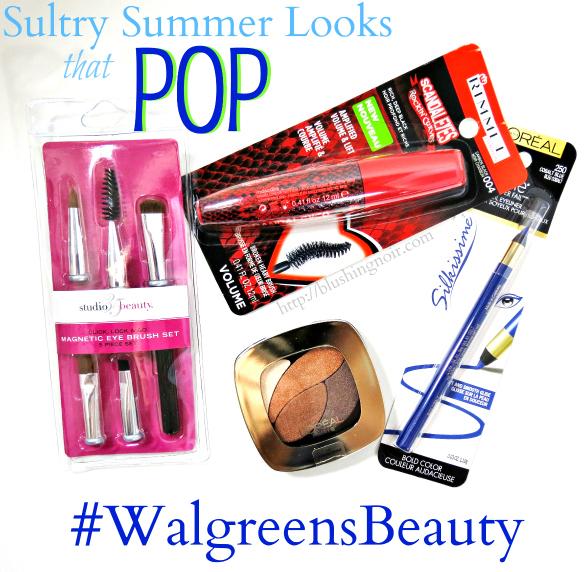 Summer Beauty – Sultry Eyes that POP Tutorial #WalgreensBeauty