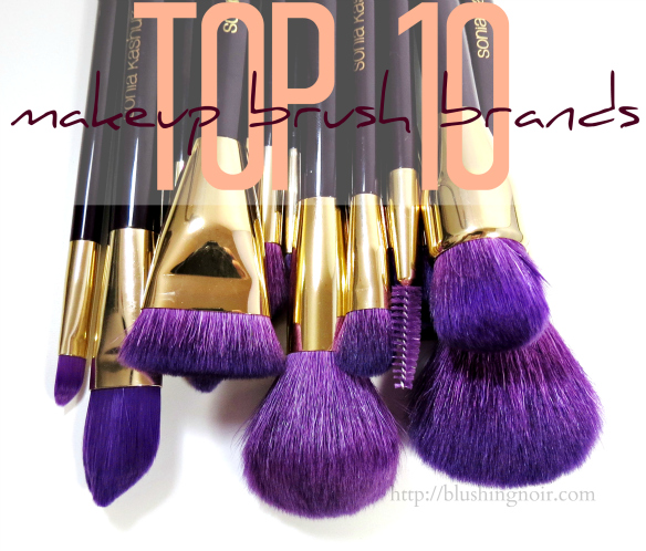Top 10 Makeup Brushes & Where to Buy Them