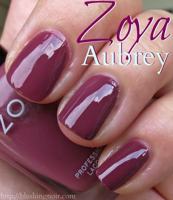 Zoya Aubrey Nail Polish Swatches