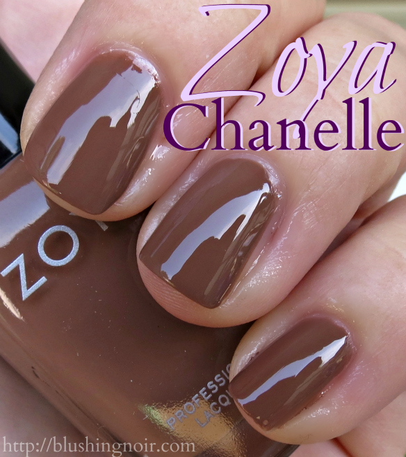 Zoya Chanelle Nail Polish Swatches