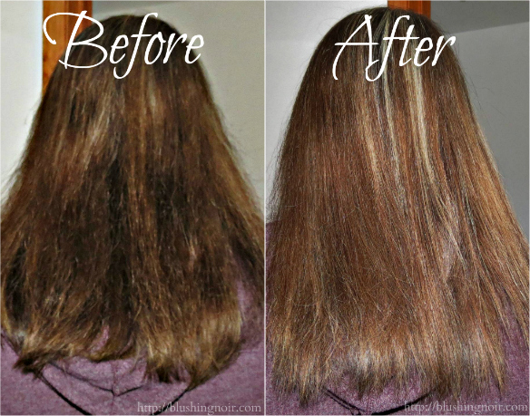 Aveda Smooth Infusion Before After Photo
