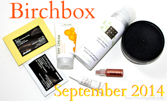 Birchbox September 2014 Swatches Review