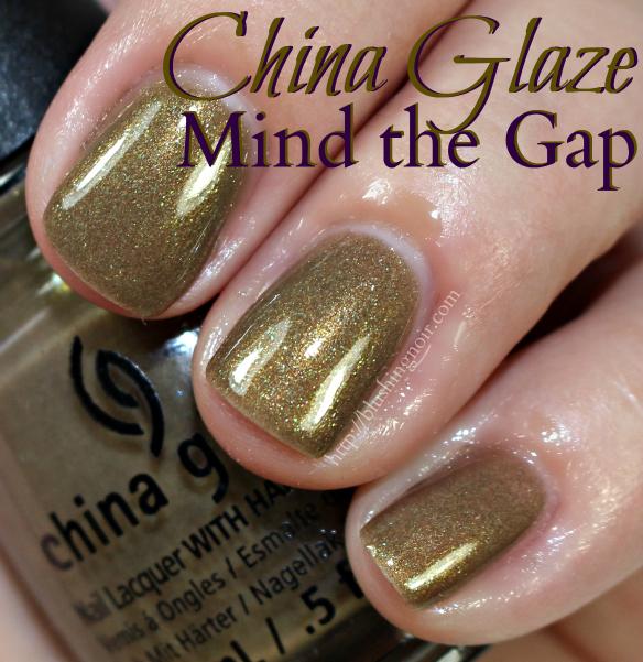 China Glaze Mind the Gap Nail Polish Swatches