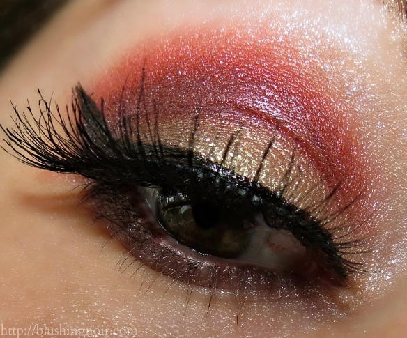 Dior Trafalgar 5 Couleurs Eyeshadow Palette Eye Look 2