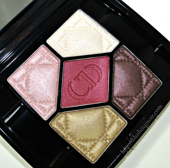 Dior Trafalgar 5 Couleurs Eyeshadow Palette review swatches