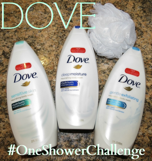 Dove #OneShowerChallenge Body Wash