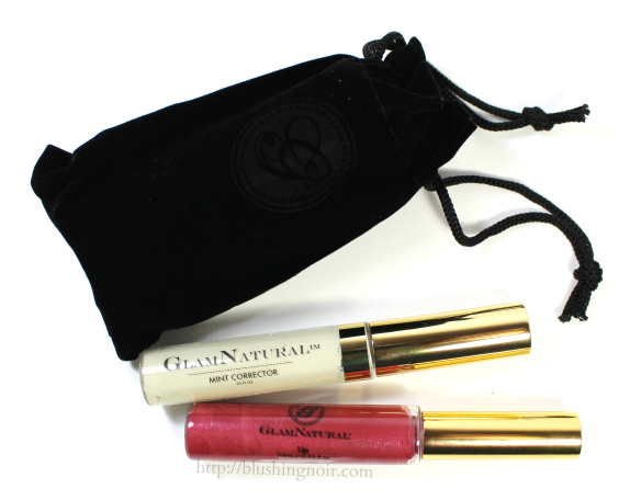 Glam Natural Cosmetics Swatches Review