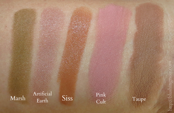 MAC Artificially Wild Swatches