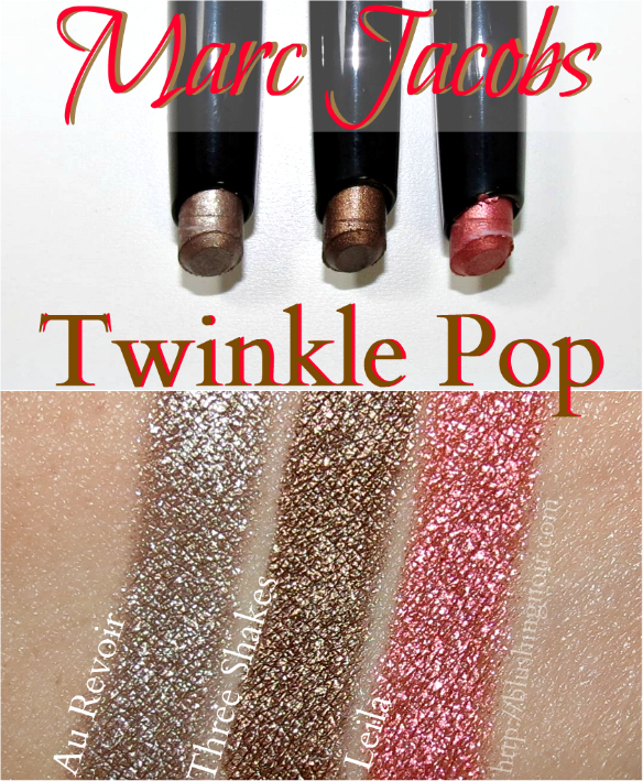 Marc Jacobs Twinkle Pop Swatches