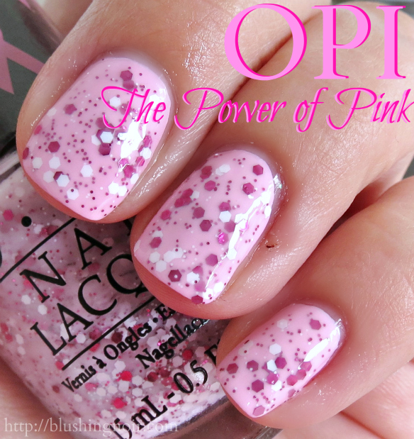 OPI The Power of Pink Nail Polish Swatches