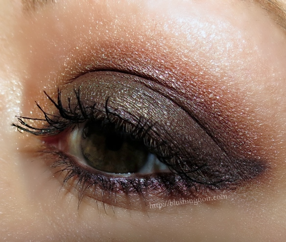 Smashbox Cherry Smoke Photo Op Eye Shadow Palette EOTD 1