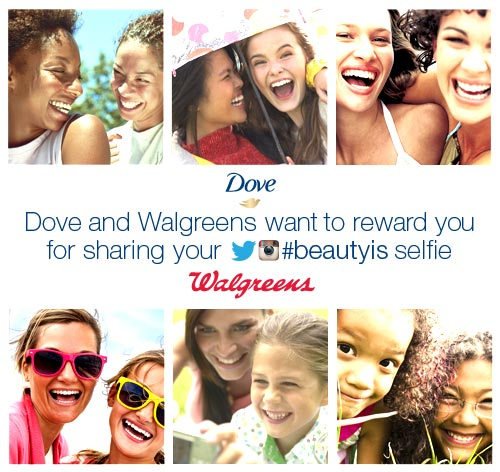 Walgreens and Dove want to REWARD YOU for sharing what #beautyis to you